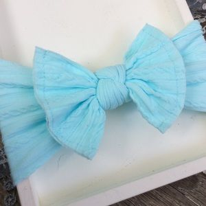 Other - Boutique Baby Girls Sky Blue Headband